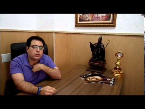"""""""En Compañía"""":Álvaro Gómez(Hno Mayor Hermandad de Jesús Despojado)"""