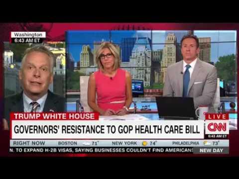 Gov. McAuliffe CNN New Day Interview 7.18.17