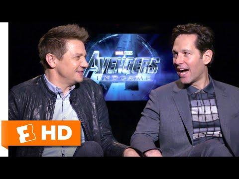 Paul Rudd & Jeremy Renner Consider Swapping Superhero Roles | Avengers: Endgame Cast Interview