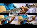 Santesh - Amalina (Instrumental/Full Acoustic/Guitar Cover)