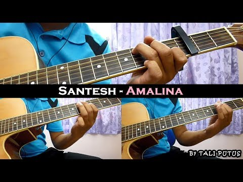 Santesh - Amalina (Instrumental/Full Acoustic/Guitar Cover)