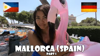 FILIPINA & GERMAN | VACATION IN SPAIN (MALLORCA) PART I | LDR | LONG DISTANCE RELATIONSHIP