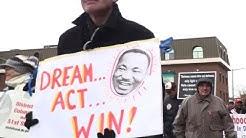 """Drecksloch-Länder"": Sorge wegen Trump am Martin Luther King Tag"