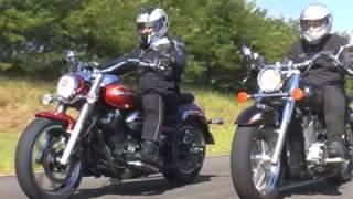 Yamaha Midnight Star x Honda Shadow - Revista Motociclismo