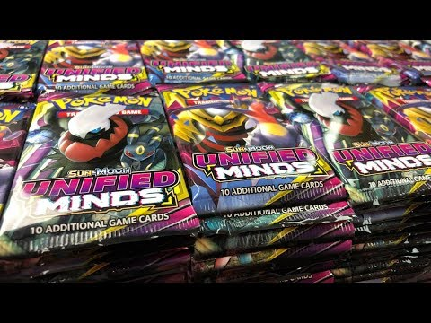 Opening 1,000 Unified Minds Booster Packs! (Pokemon TCG Opening)