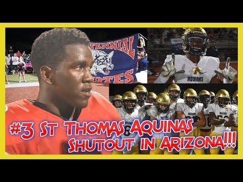 🔥UPSET IN THE DESERT🔥: Centennial (AZ) SHOCKS the Nation by shutting out #3 St Thomas Aquinas (FL)