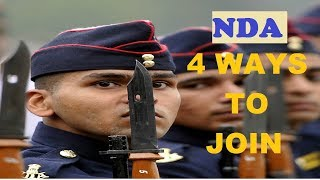 how to join nda entry scheme after 10th 12th ba & b.sc full detiles of  recruitment 2017 hindi