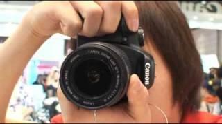캐논, 엔트리급 DSLR 카메라 'EOS 450D' 공…