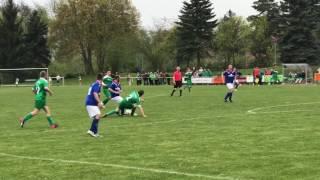 SV Normania Treffurt gewinnt das Pokalhalbfinale gegen VfL Eintracht 67 Gotha (01.05.2017)