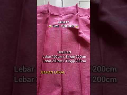 Gorden Plisket Murah | Toko Gudang Gorden Jakarta #gorden