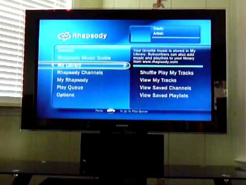 Troubleshooting Rhapsody Channels on Tivo