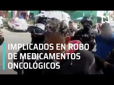 Detienen a dos hombres relacionados con el robo de medicamentos en Iztapalapa - Las Noticias