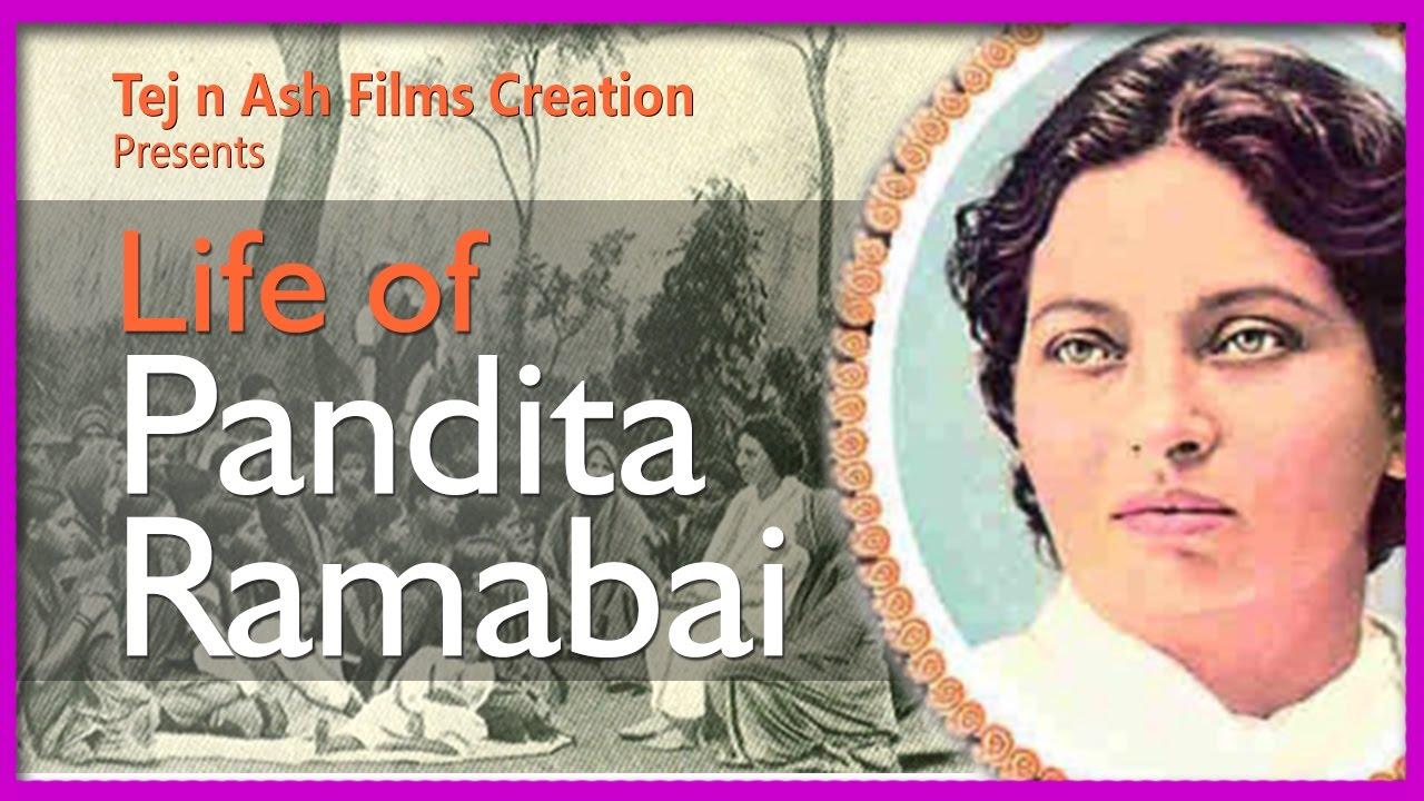 Life of Pandita Ramabai based on a true story written by