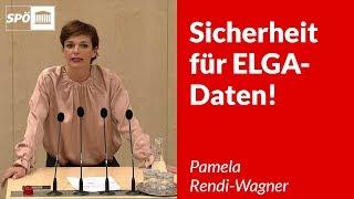 Sicherheit für ELGA-Daten! - Pamela Rendi-Wagner