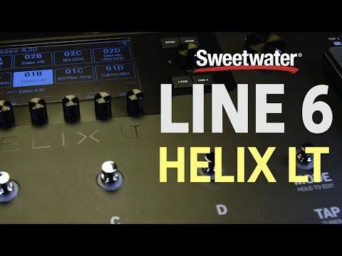 Line 6 Helix LT Guitar Multi-effects Processor | Sweetwater