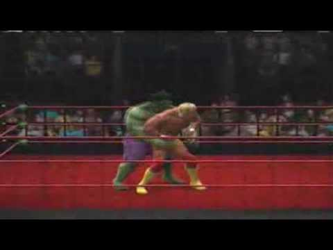 Hulk Hogan vs. The Hulk, Steel Cage Match (Request) - YouTube