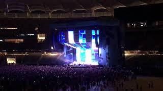 "Ed Sheeran live, ""Castle on the Hill"". Perth Optus Stadium, Western Australia Mp3"
