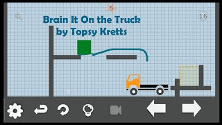 brain it on the truck level 16 water 5 stars