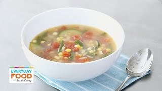 Cold-weather Vegetable Soup - Everyday Food With Sarah Carey