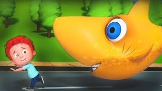 Flying Shark | Halloween Songs for kids | Children's Nursery Rhymes