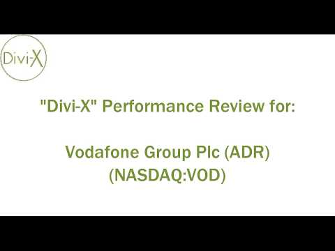 Your Favorite Stocks on Divi-X:  Vodafone Group Plc (ADR) (NASDAQ:VOD)