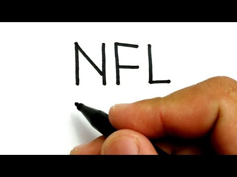 EASY, How to turn words NFL into NFL MVP Patrick Mahomes super bowl LIV 2020