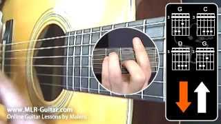 Beginners Guitar Lessons : Reggae Rhythm 1