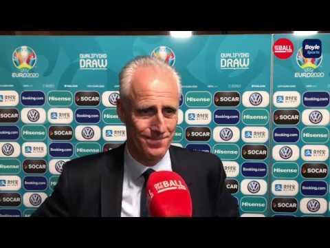 Mick McCarthy | Euro 2020 draw | maximising talent,  Obafemi debut, avoiding Germany/Holland