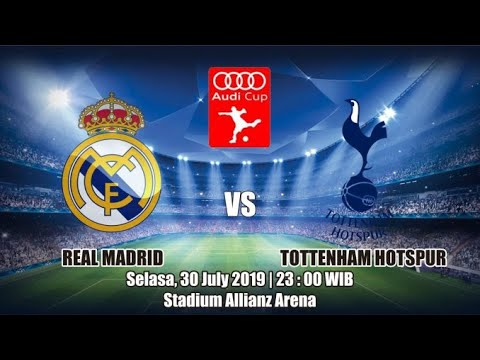 LIVE NOW || REAL MADRID VS TOTTENHAM HOTSPURS || AUDI CUP STREAMING HD