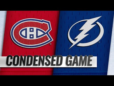 12/29/18 Condensed Game: Canadiens @ Lightning