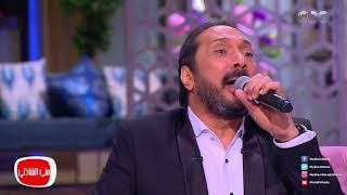 """علي الحجار يطرب جمهور """"معكم"""" بأغنية """"عم بطاطا""""-فيديو"""