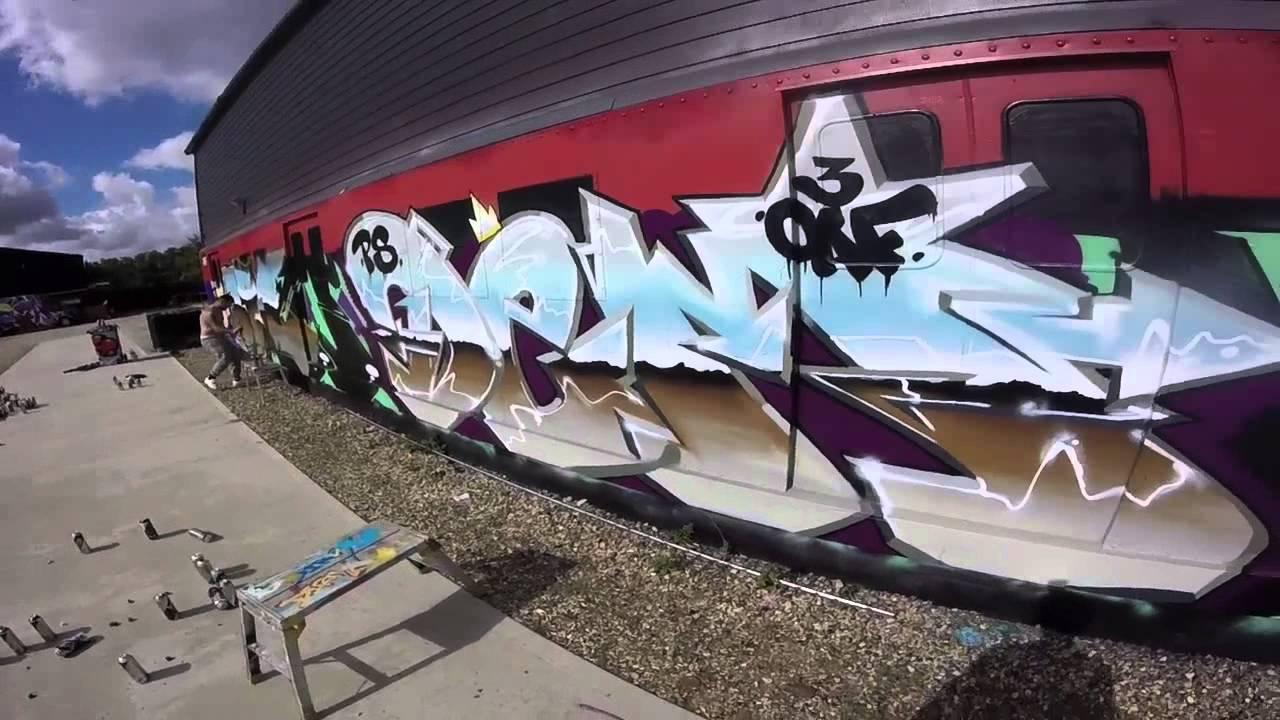 Graffiti London Styles Street Artist Dem Dfie Youtube