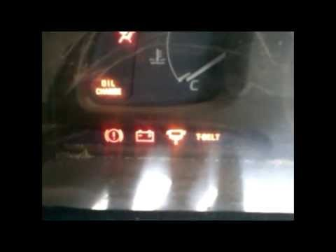 Toyota Hilux 6th Generation T Belt Light Reset On Denso Instrument Cluster Youtube