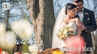 Pontiac Convention Center Wedding Video Michelle and Matthew by Peer Canvas Photography