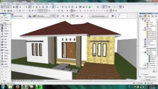 Tutorial Archicad 16   Part 1 9 Material