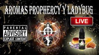La Noche de la Alquimia 43 programa 11/04/2016. Revisión aromas Prophecy y Ladybug