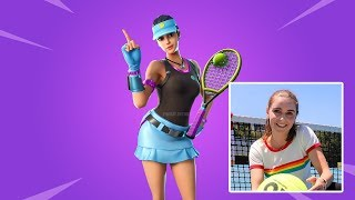 Loserfruit Showcase *EXCLUSIVE* *Volley Girl* Skin In Fortnite Battle Royal | *FUNNY* Epic Moments