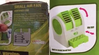 Mini-Fan review, Received broken Mini-Fan from flipkart
