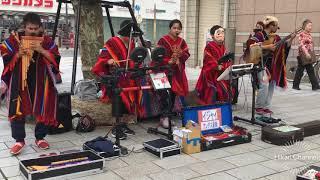 Japanese street Musicians