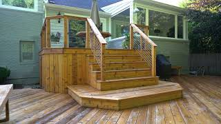 Brandon James Construction - Deck Recap Video