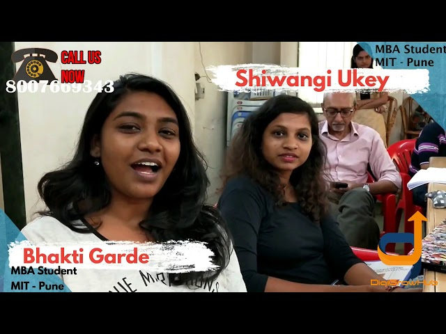 Find out how Sakshi & Bhakti gained from Digigrow Hub Bootcamp
