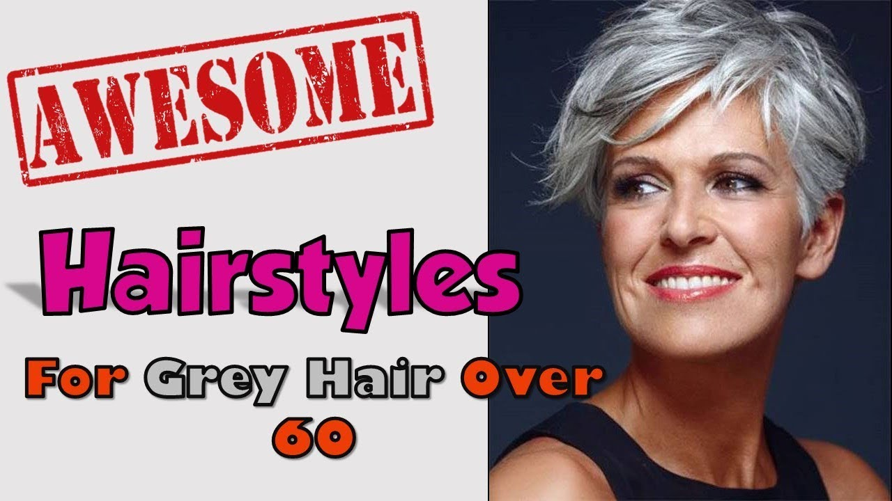 Short womens hairstyles for gray hair - Short Womens Hairstyles For Gray Hair 4