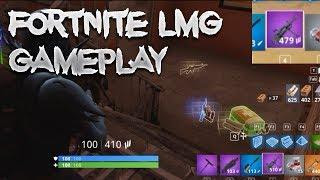 Fortnite New LMG Gameplay Light Machine Gun