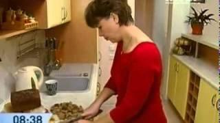 Торт из черствого хлеба - Рецепт - Интер