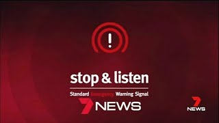 Emergency Warning Signal - Tornado Alert - Seven News