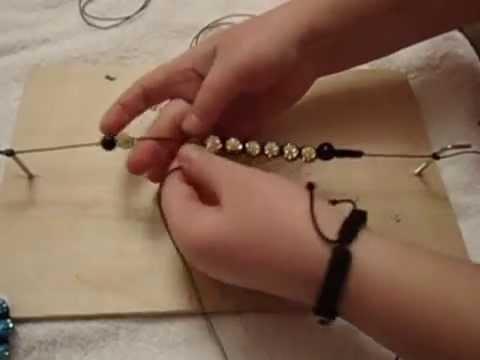 Видео урок правильного плетения браслета шамбала