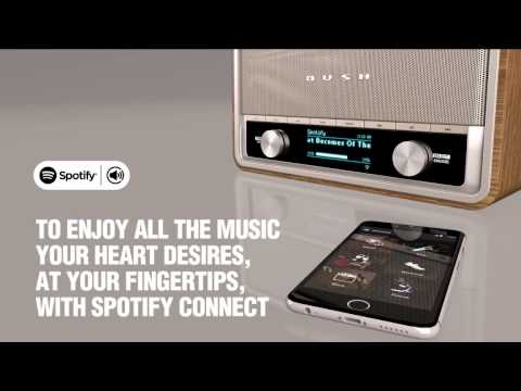 Heritage II Connect - Digital Radio with WiFi & Spotify Connect