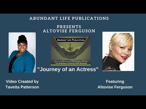 Abundant Life Publications Presents Altovise Ferguson:  Journey of an Actress