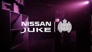 Repeat youtube video Ministry of Sound & Nissan JUKE Box (Behind The Scenes)