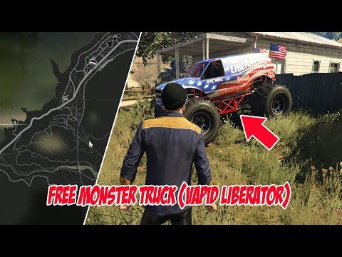 "LOKASI MOBIL MONSTER ""VAPID LIBERATOR"" GTA 5 (NEXT GEN)"